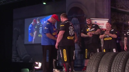 Germany: Super weightlifters pump iron at Cologne's FIBO fitness fair 2016