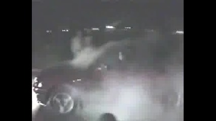 Opel Astra - Burnout