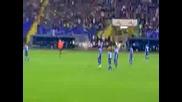 Levski - Baku (dvata otbora izlizat na terena) 2:0