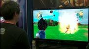 Comic Con 11: Dragon Ball Z: Ultimate Tenkaichi - Fight Gameplay