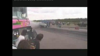 Mercedes 300 W124 Turbo Diesel Race