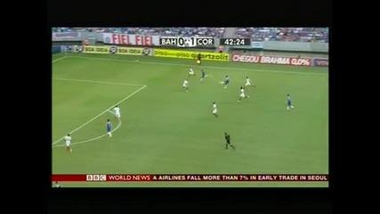 """С 2 гола на Пато, """"Коринтианс """"надигра """"Баия"""" с 2:0"""
