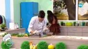 Рецептата днес: Великденска плетеница с пресен лук, яйчена салата - На кафе (26.04.2021)