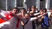 UK: England fans in London 'go fucking mental' after 6:1 Panama win