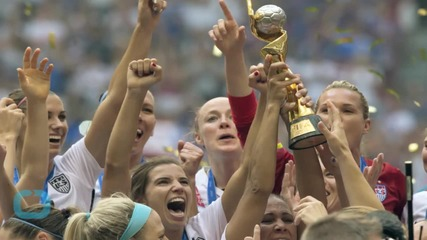 Los Angeles Stages Raucous Rally for U.S. Women's Soccer Team