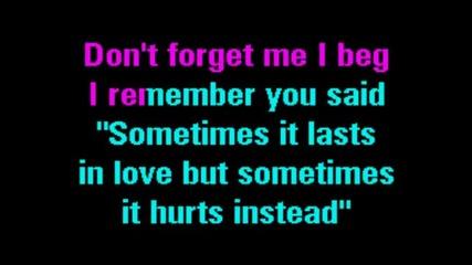 Adele - Someone Like You (караоке)