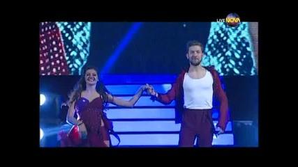 Dancing Stars - Михаела Филева и Светльо - Първи финален танц (05.06.2014)