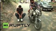 Индия: Най-малкия електрически мотоциклет в света