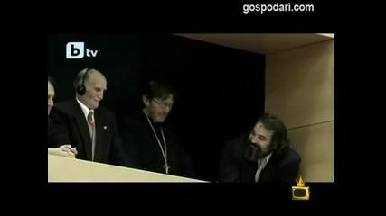 Смях! Господари на ефира - Бойко Борисов в Германия - смешни кадри