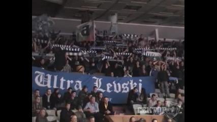 Левски - Окк Београд Ултрас Левски (баскетбол)