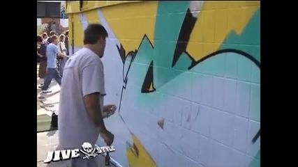 Ето как се правят хубави графити