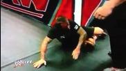 Wwe-raw Brock lesnar atack Cm Punk