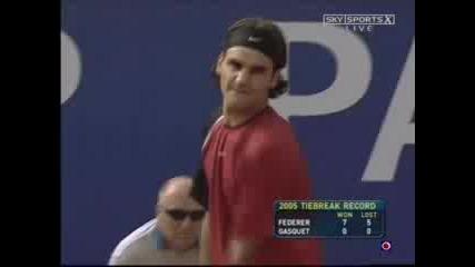 Richard Qasquet/roger Federer