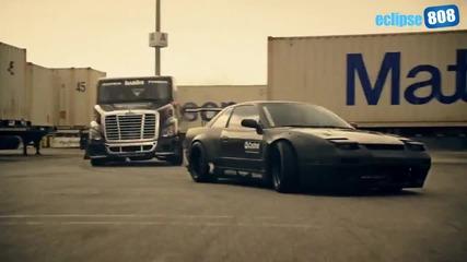 Дрифт - Камион срещу Koла