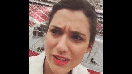 Мечи Ламбре и Алба Рико (instagram) ♥