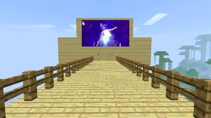 Minecraft: Spleef Entertainment (jeff Hardy vs Chris Jericho)