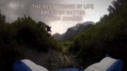 Alexander Polli Wingsuit Downhill Gate Bashing Precision Of Human Flight