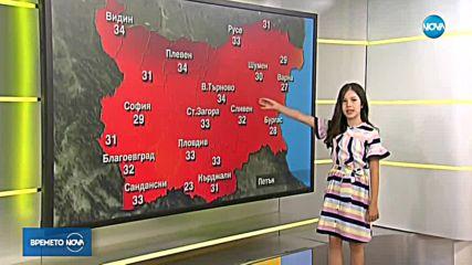 Прогнозата за времето на 1 юни с малката Преслава