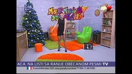 Maya Berovic - Gostovanje - Maximalno opusteno - (TV DM SAT 04.01.2015.)