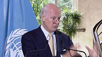 Switzerland: De Mistura criticises Syrian gov. for blocking aid trucks in eastern Aleppo
