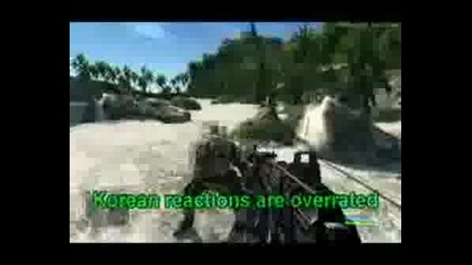 Crysis - Fun With Koreans Wtf..!?!?!