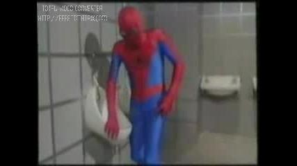 Проблема на костюма на Spider Man
