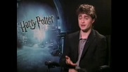 Daniel Radcliffe - интервю Harry Potter and the Half - Blood Prince част 1