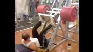 400kg - Leg Presa