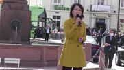 Germany: Green candidate Baerbock pledges refugee, climate policies at Karlsruhe rally