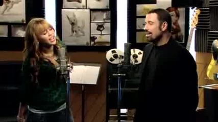 Miley Cyrus Ft. John Travolta - I Thought