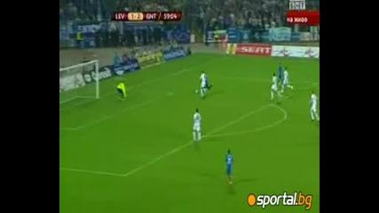 Велик обрат за Левски на старта на Лига Европа! Левски - Гент 3:2