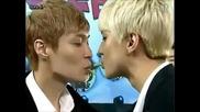 [+ Бг превод] Exo Pepero Kissing Game (china Love Big Concert)
