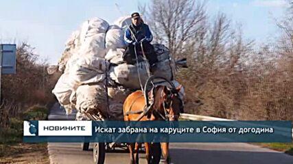 Искат забрана на каруците в София от догодина