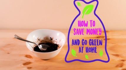 Saving money the green way with DIY natural body scrub