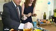 Гергана Малкоданска боядисва яйца и съобщава какво ще е времето на Велики четвъртък