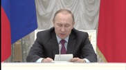 Russia: Putin chairs Presidential Council for Culture and Art in Moscow