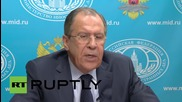 Russia: The Islamic State is a product of US aggression in the Middle East - Lavrov