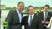 Лавров дойде на посещение в Белград