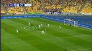 Страхотен гол на Migel Veloso за Fc Dynamo Kyiv от пряк свободен удар срещу Karpaty - 15.08.15