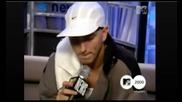 Eminem honored to meet Whitney Houston 2000