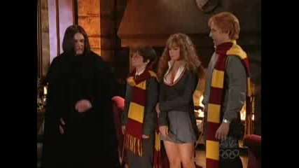 Lindsay Lohan As Sexy Hermione On Snl