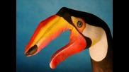 Най-готините Животни Нарисувани Върху Човешка Ръка - Яко