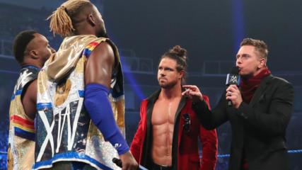 "The New Day and The Usos crash The Miz & John Morrison's ""The Dirt Sheet"" reunion: SmackDown, Feb. 7, 2020"