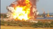 Кадри от взрива край Варна