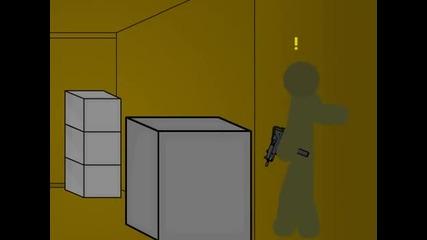 Counter Strike 1.6 Parody - Animation