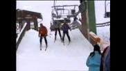 Закачен На Ски Влек