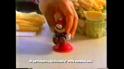 Реклама: Mcdonalds - Супер Марио