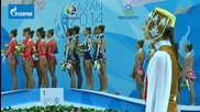 Златен медал за България на топки и ленти