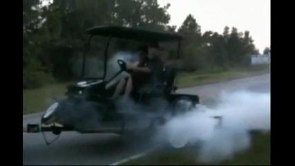 Добре тунингована количка за голф