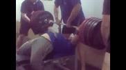 260 от лег по време на тренировка - Джони Спорт